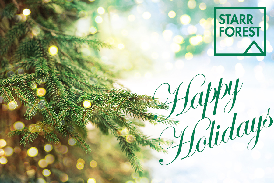 Happy Holidays Starrforest